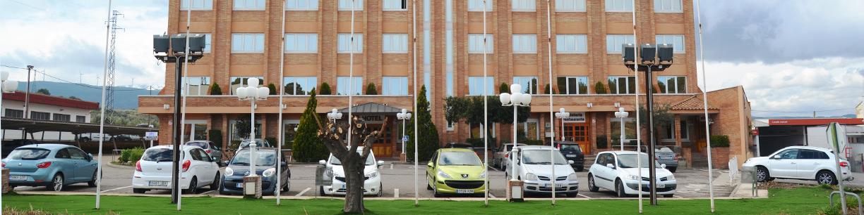 Servicios Hotel Brujas parking gratuito